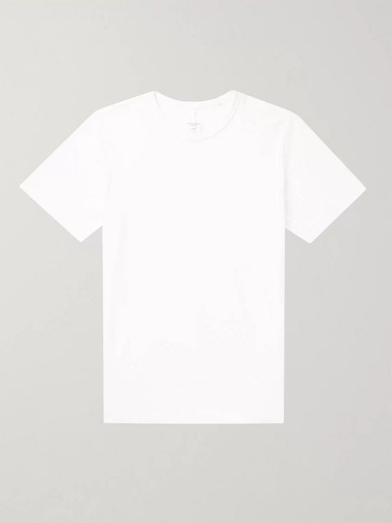 rag & bone Slub Cotton-Jersey T-Shirt