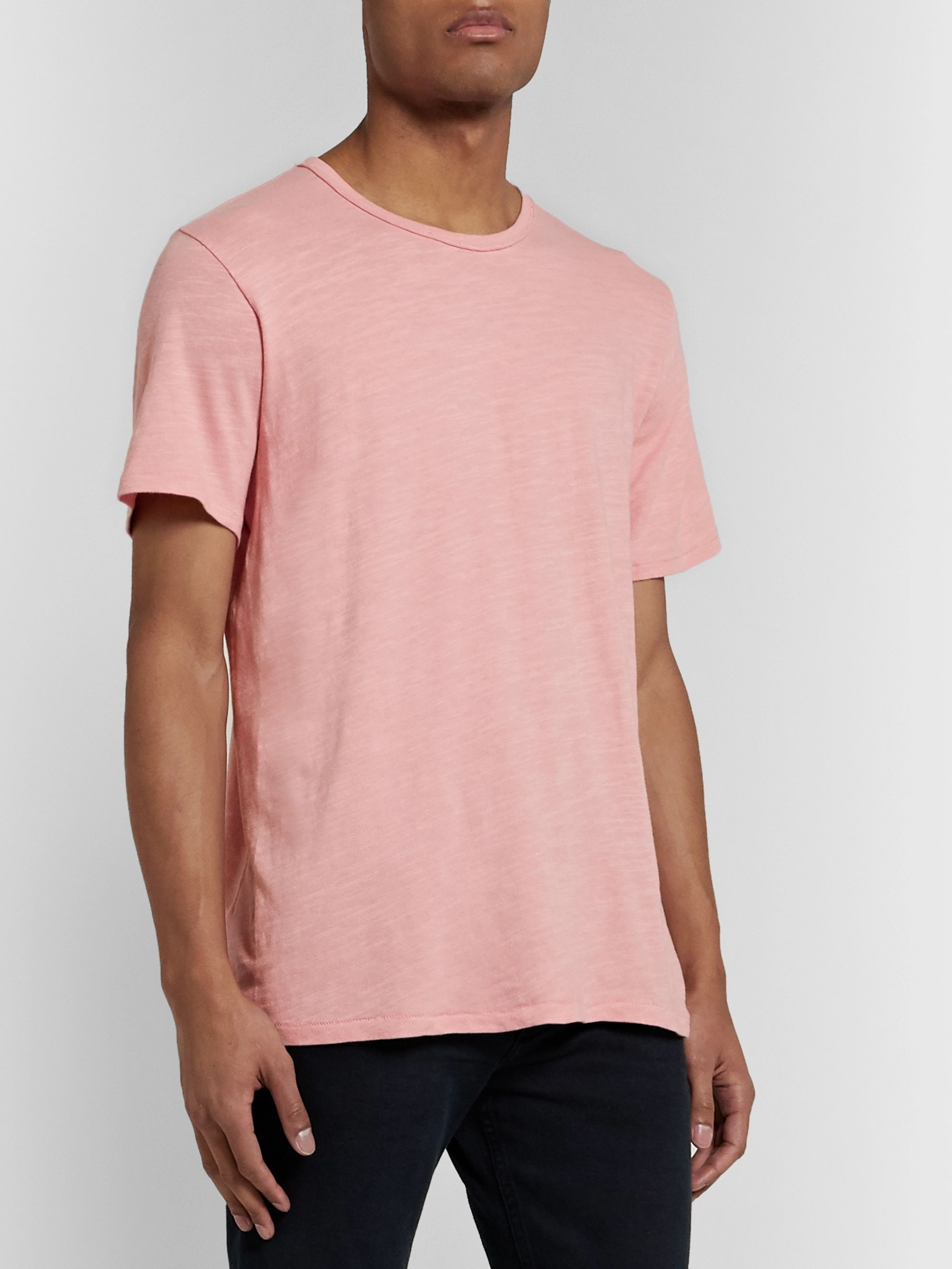 rag & bone Classic Slub Cotton-Jersey T-Shirt
