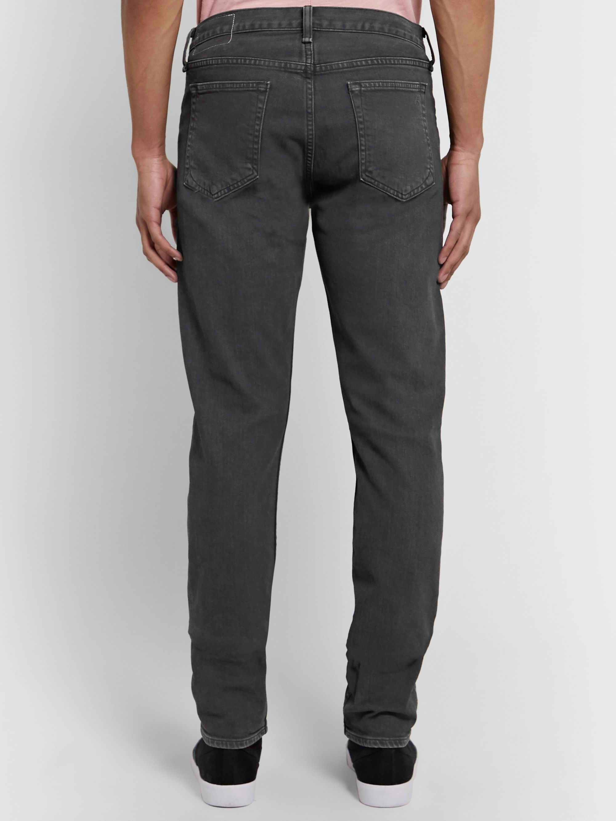 rag & bone Fit 2 Slim-Fit Organic Stretch-Denim Jeans