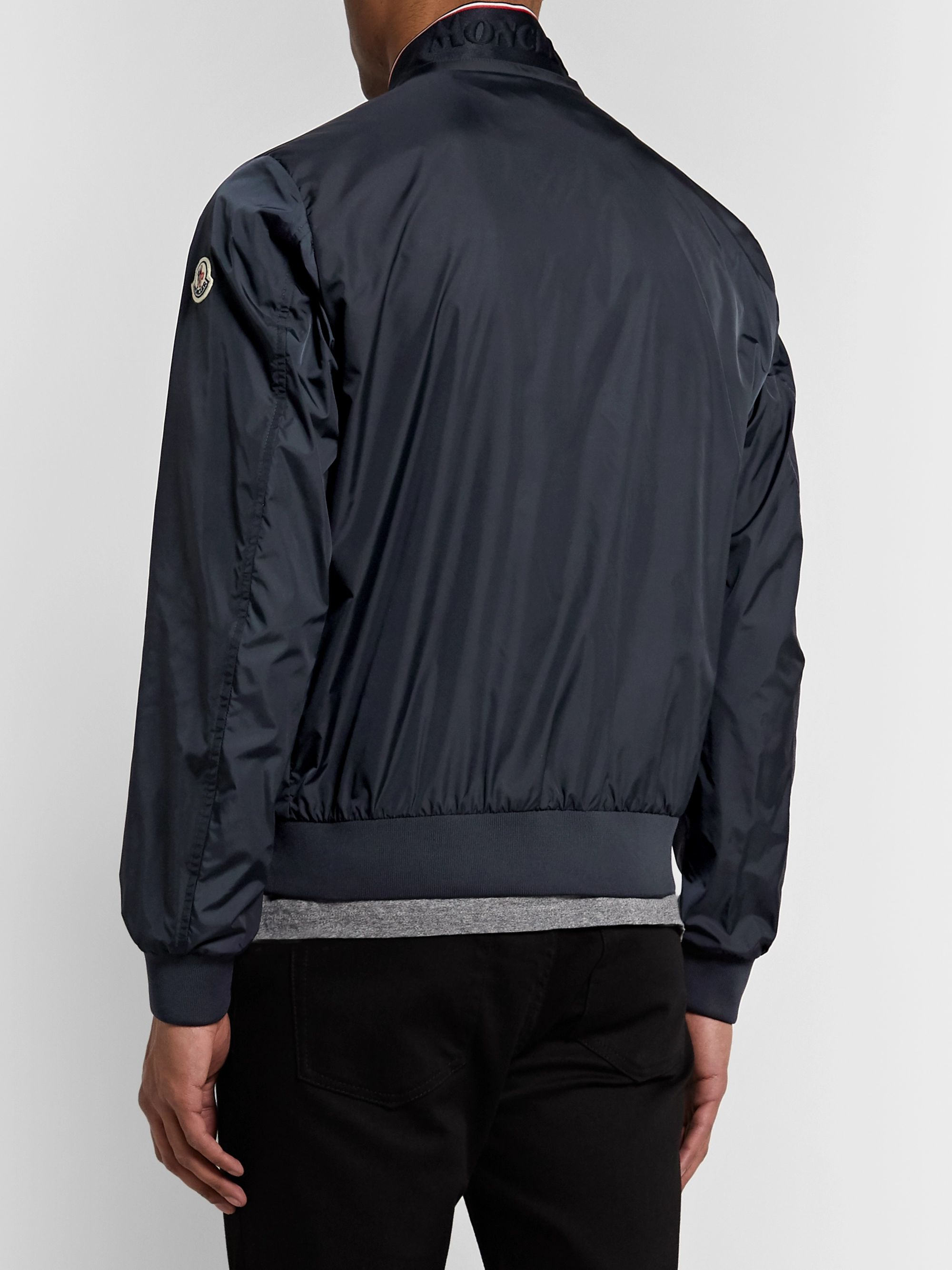 Moncler Reppe Shell Bomber Jacket