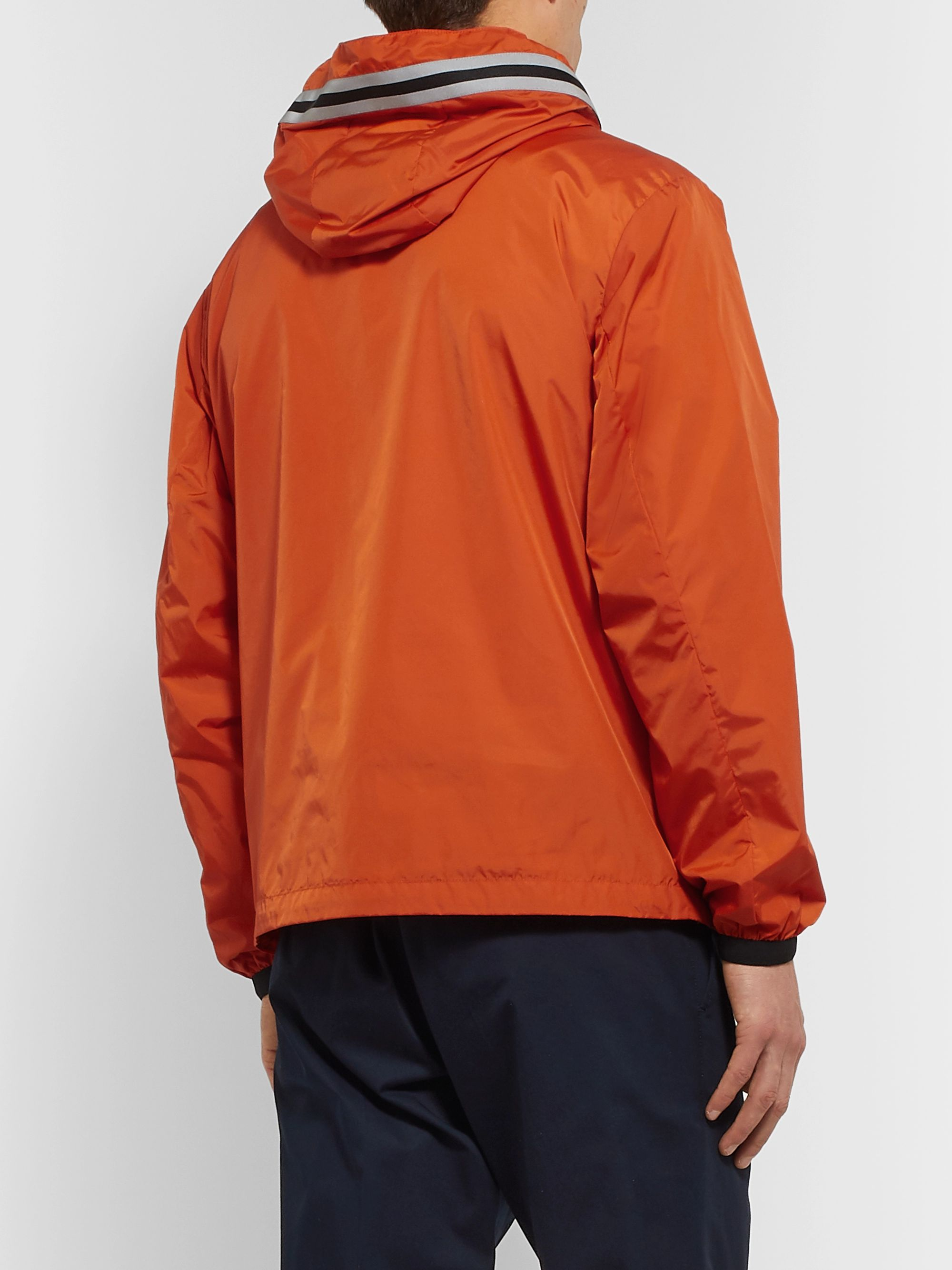 Moncler Abbe Shell Hooded Jacket