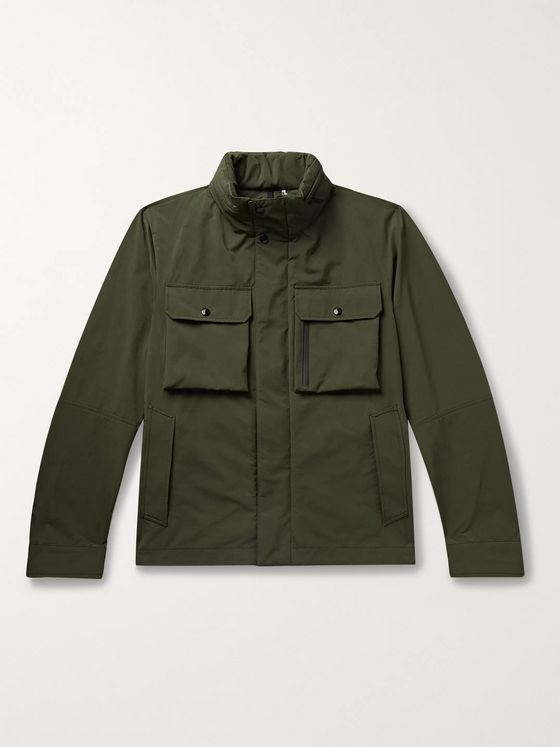 Moncler Var Brushed-Shell Field Jacket