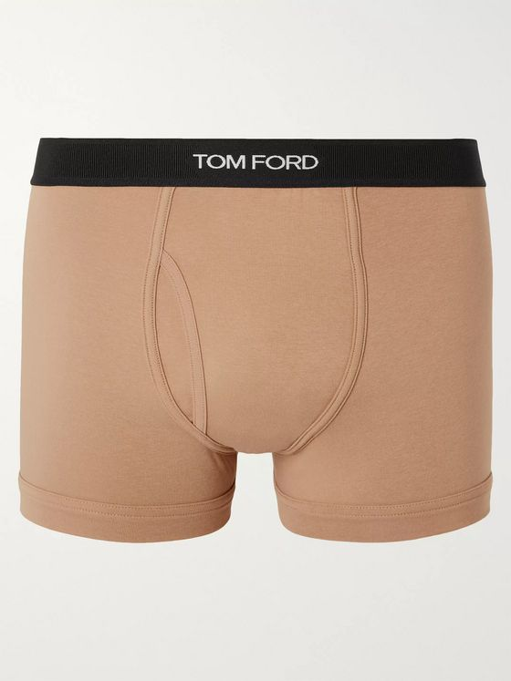 TOM FORD Stretch-Cotton Boxer Briefs