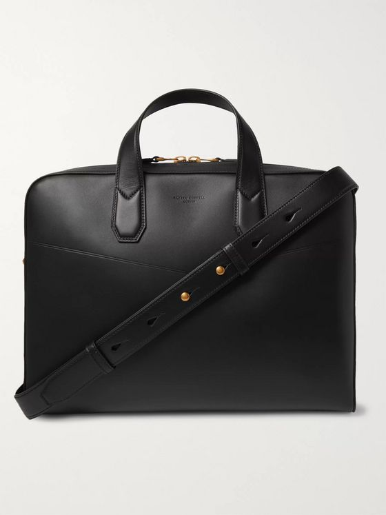 Dunhill Duke Leather Briefcase