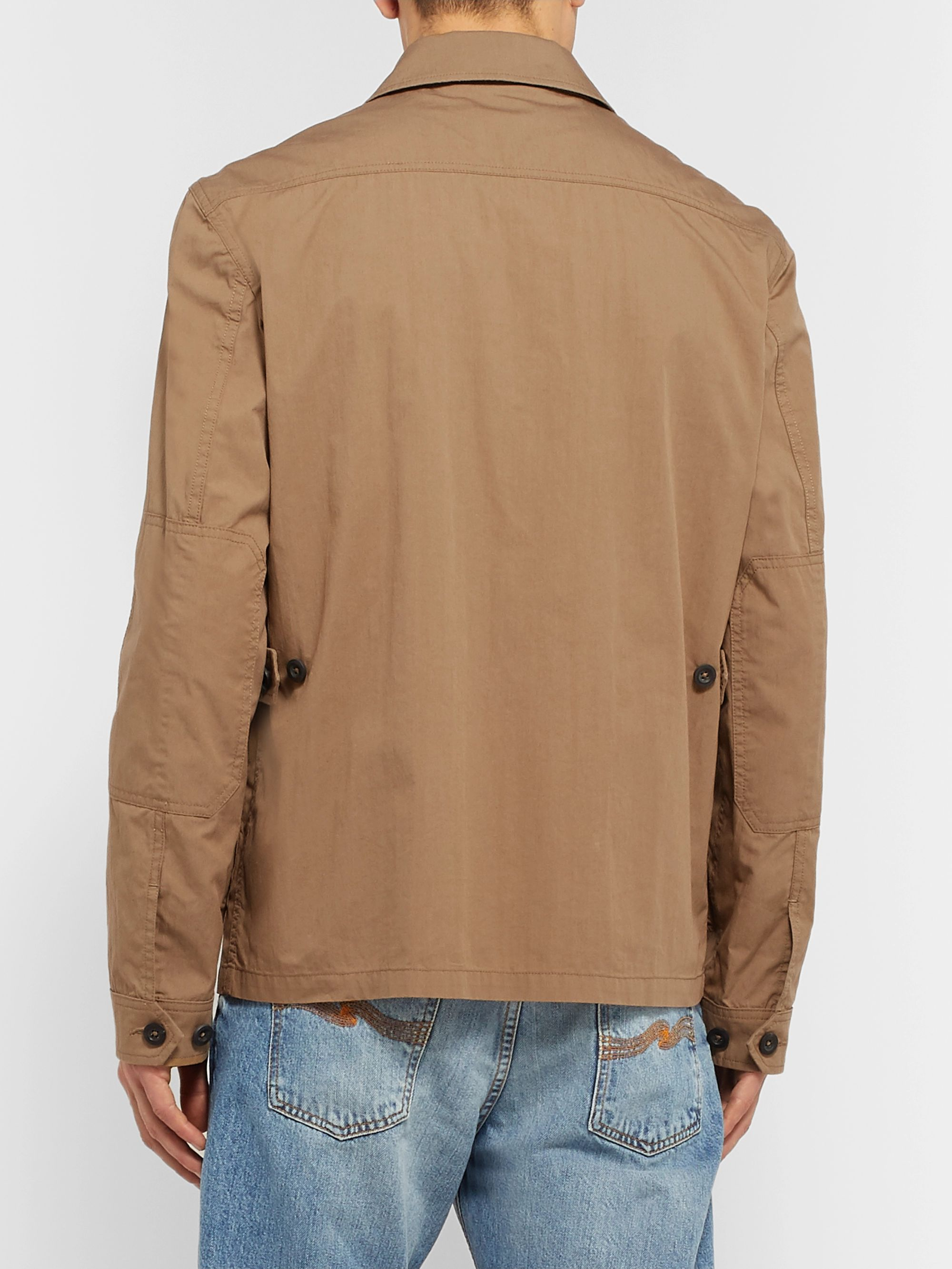 Mr P. Cotton and Nylon-Blend Field Jacket