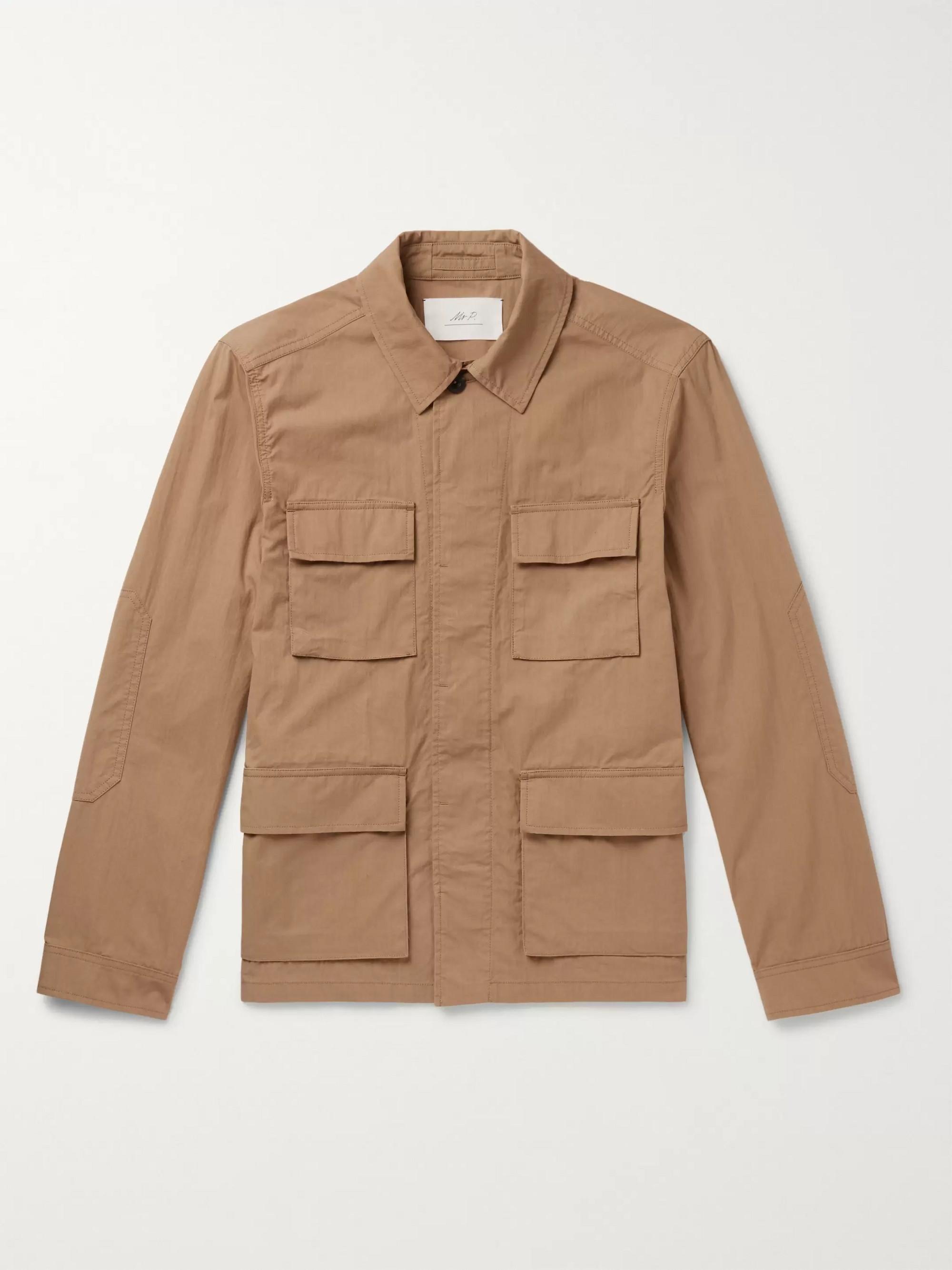 Mr P. Cotton and Nylon-Blend Field Jacket
