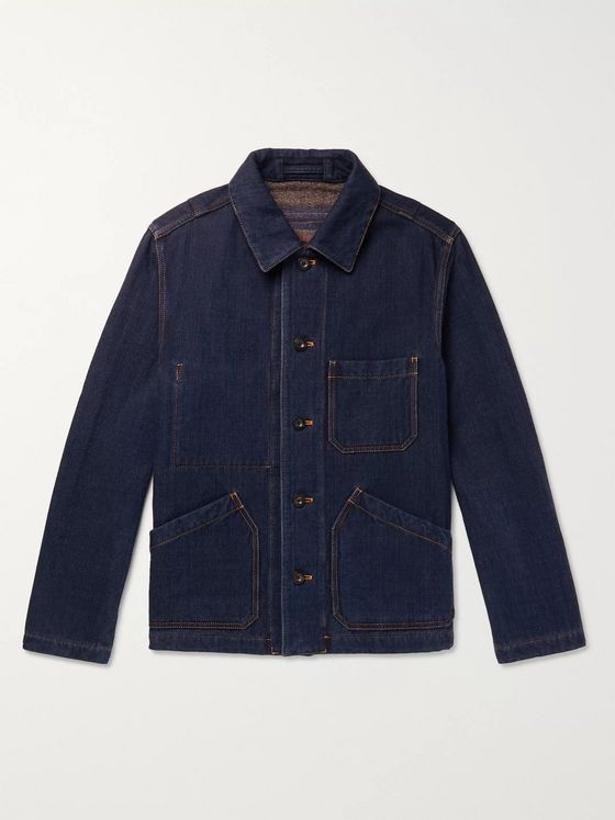 MR P. Double-Faced Denim Chore Jacket