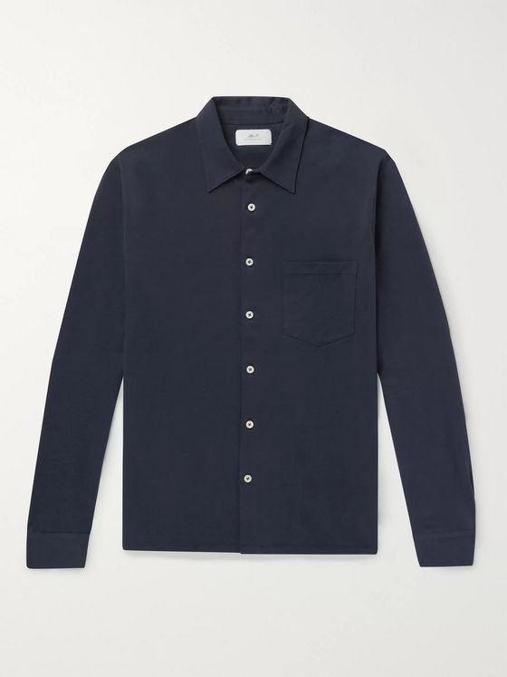 MR P. Cotton-Jersey Shirt