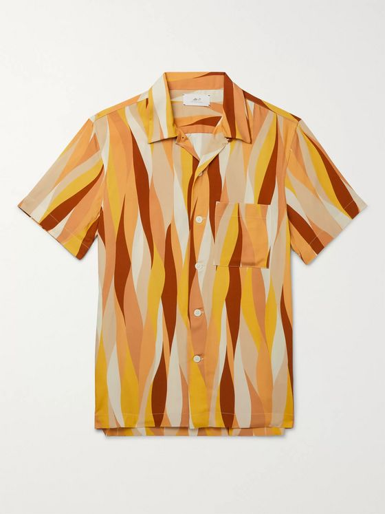 Mr P. Printed Voile Shirt