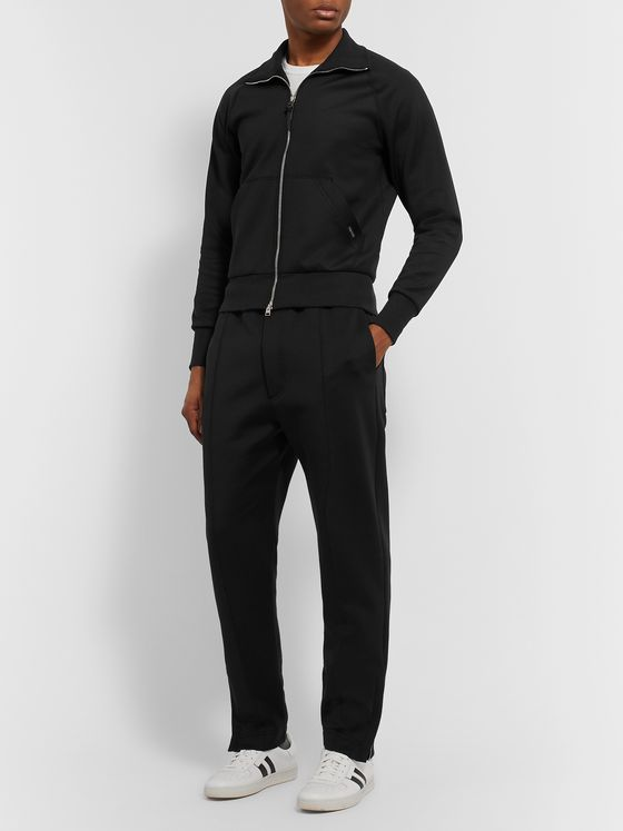TOM FORD Tech-Jersey Track Jacket