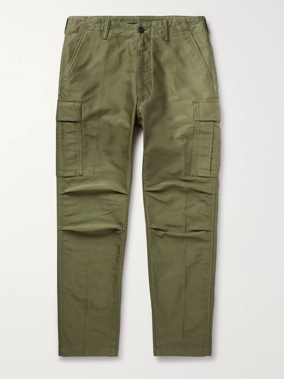 TOM FORD Slim-Fit Cotton Cargo Trousers