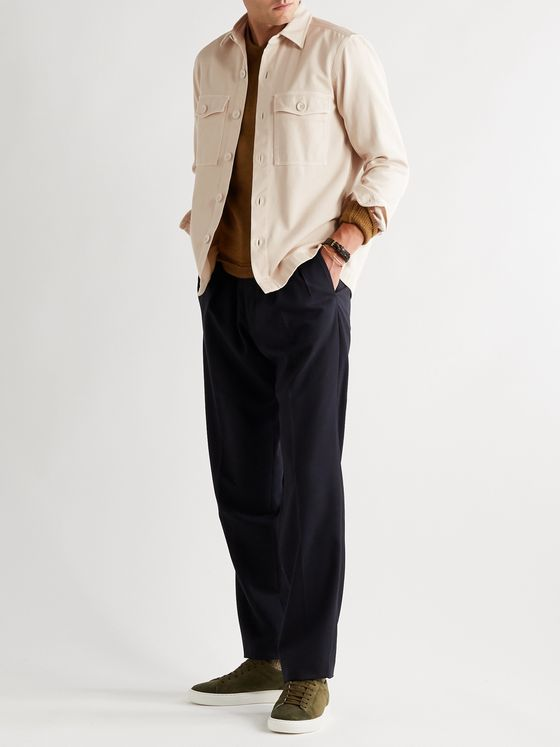 TOM FORD Cotton-Twill Overshirt