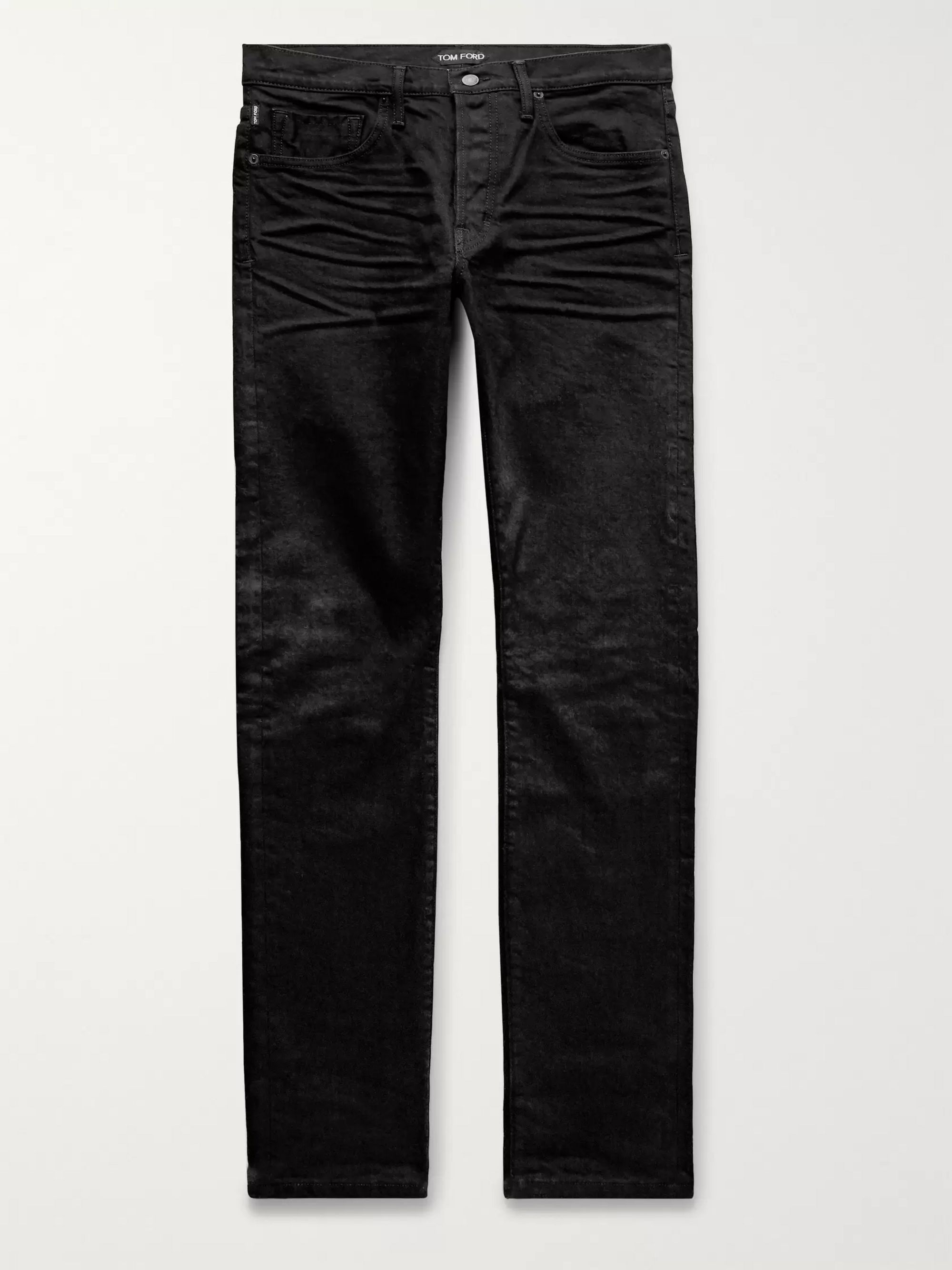 Slim Fit Selvedge Denim Jeans