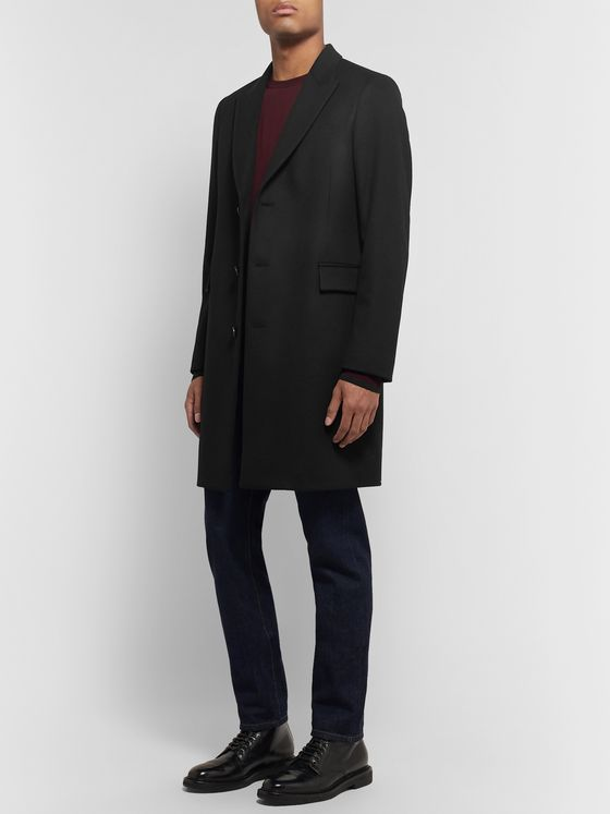 Paul Smith Wool and Cashmere-Blend Coat
