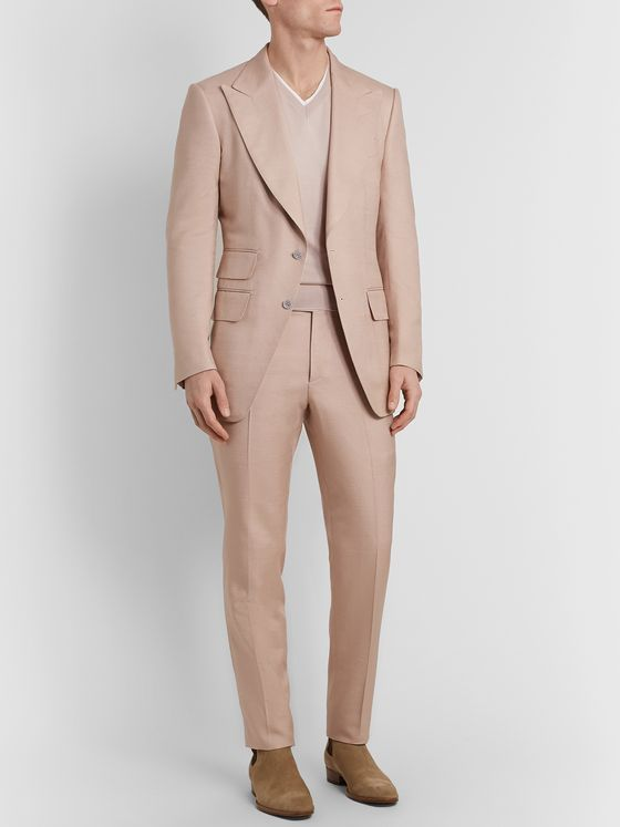 TOM FORD Slim-Fit Silk Sweater