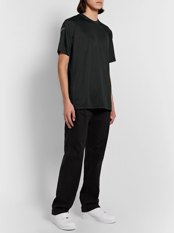 Nike Sportswear Tech Pack Perforated Stretch-Jersey T-Shirt