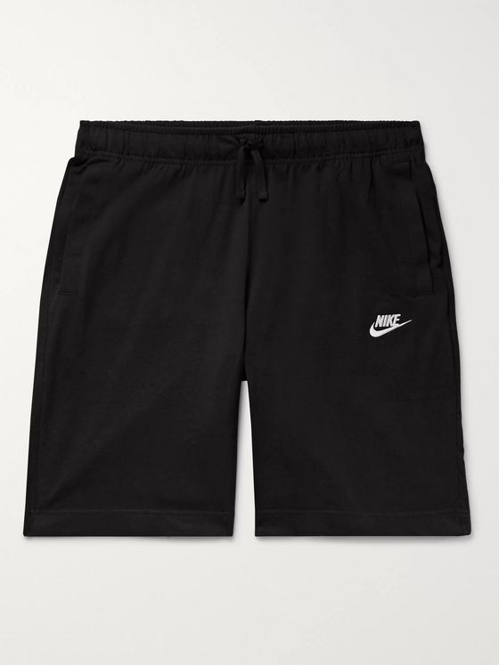 NIKE NSW Cotton-Jersey Drawstring Shorts