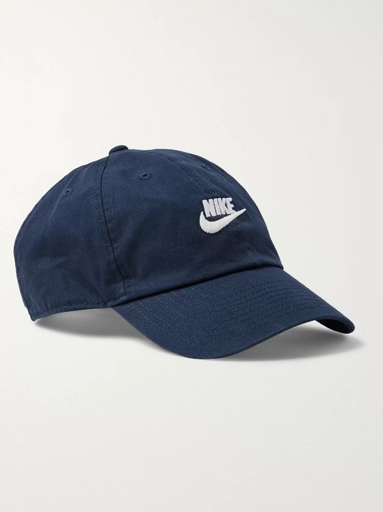 Nike Sportswear Heritage 86 Futura Logo-Embroidered Cotton-Twill Baseball Cap