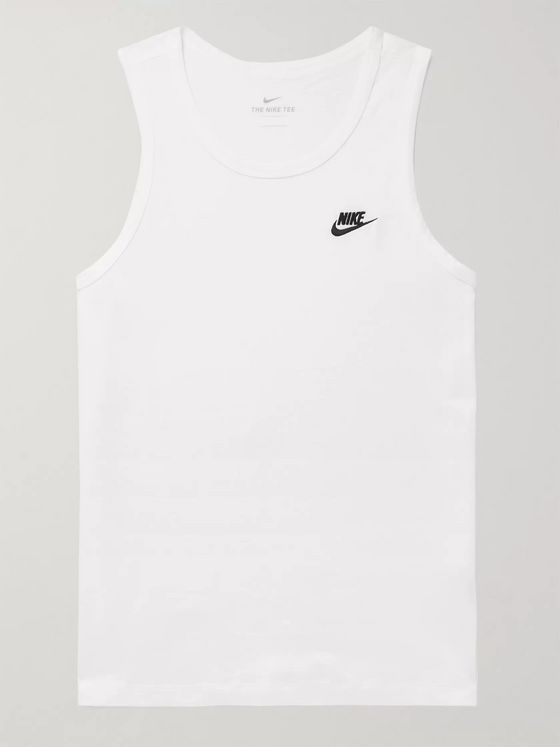 Nike Cotton-Jersey Tank Top