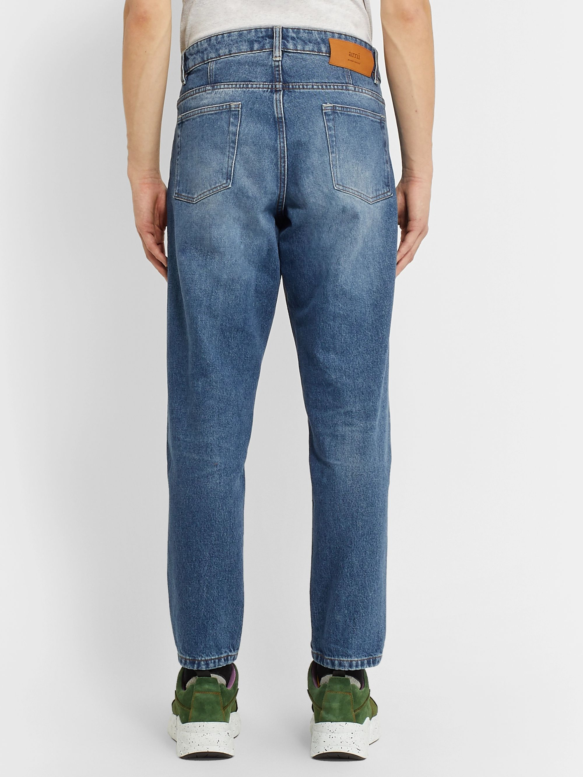 AMI Tapered Denim Jeans