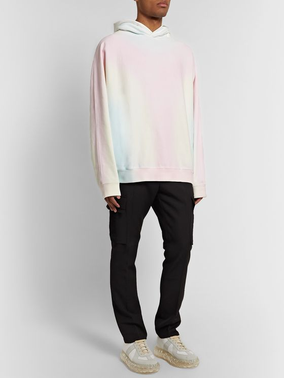 Maison Margiela Tie-Dyed Loopback Cotton-Jersey Hoodie