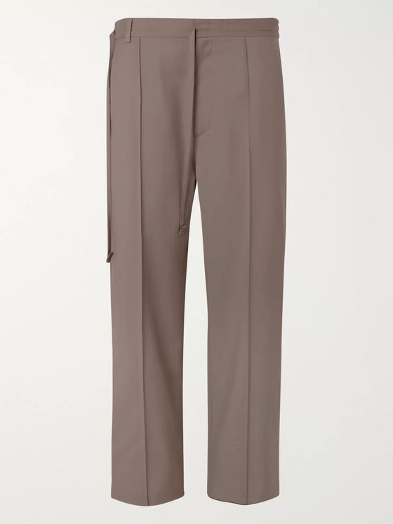 Maison Margiela Wool and Mohair-Blend Trousers