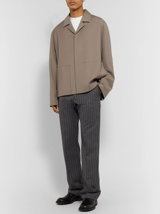 Maison Margiela Oversized Unstructured Wool and Mohair-Blend Blazer