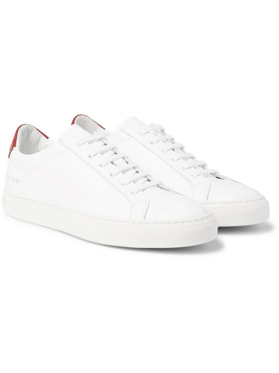 Common Projects Achilles Retro Leather Sneakers