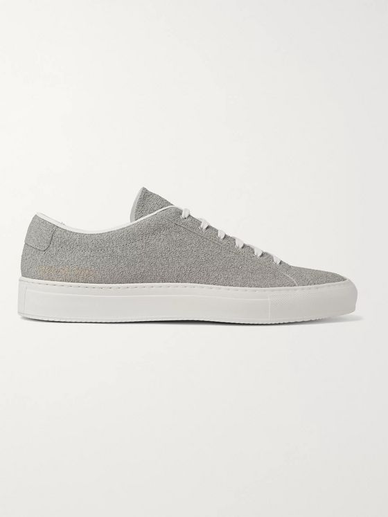 Common Projects Achilles Premium Textured-Leather Sneakers