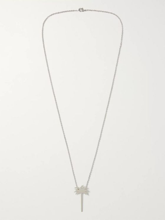 Palm Angels Silver-Tone Necklace