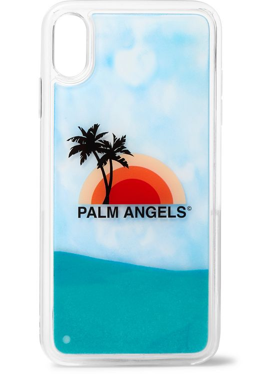 Palm Angels Liquid Printed iPhone XS Case