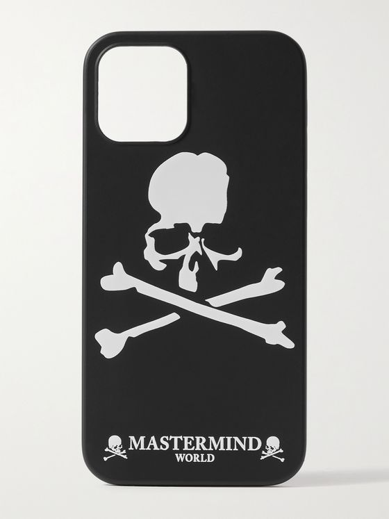 MASTERMIND WORLD Logo-Print iPhone 12/ 12 Pro Case