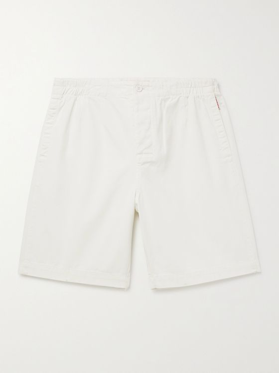 ORLEBAR BROWN Canton Cotton and Linen-Blend Shorts