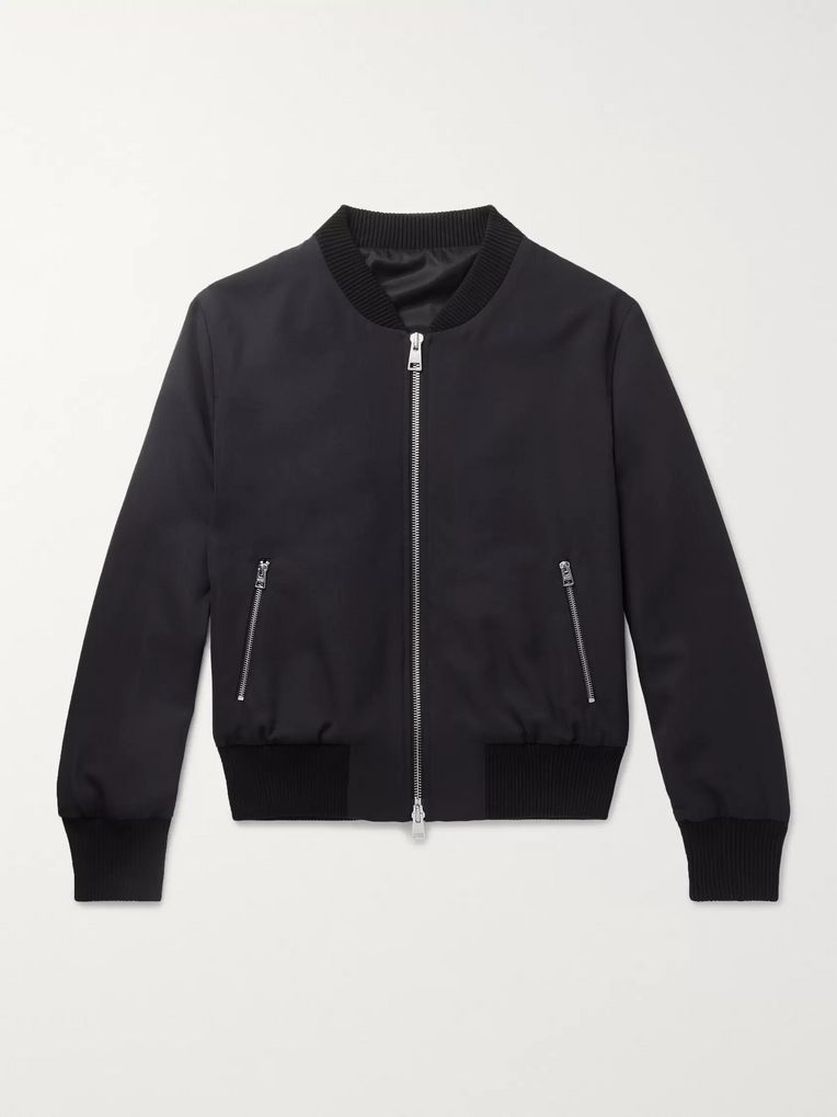 AMI Wool Bomber Jacket