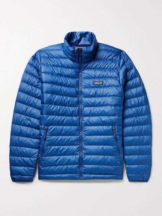 PATAGONIA Logo-Appliquéd Quilted Ripstop Down Jacket