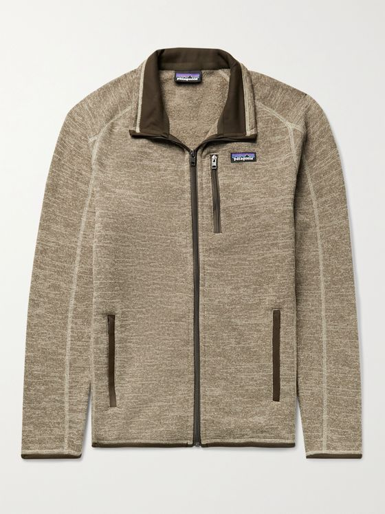 PATAGONIA Better Sweater Logo-Appliquéd Knitted Jacket