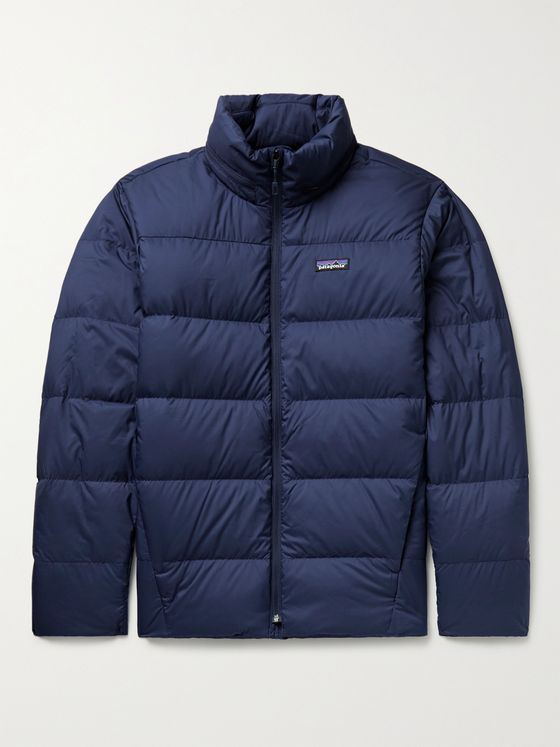 PATAGONIA Silent Logo-Appliquéd Recycled Shell Down Jacket
