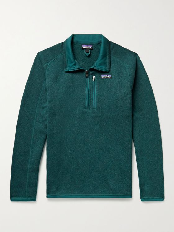 PATAGONIA Better Sweater Recycled Knitted Half-Zip Sweater