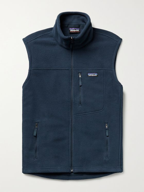 PATAGONIA Classic Logo-Appliquéd Synchilla Recycled Fleece Vest