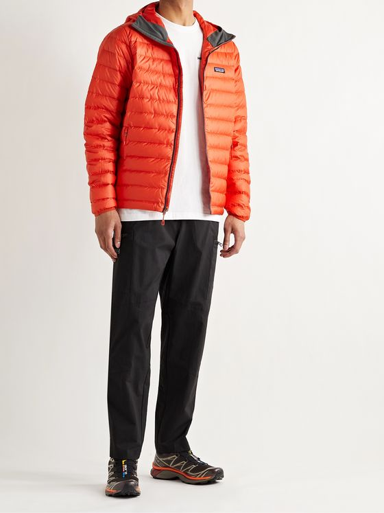 PATAGONIA Quilted DWR-Coated Recycled Ripstop Down Hooded Jacket