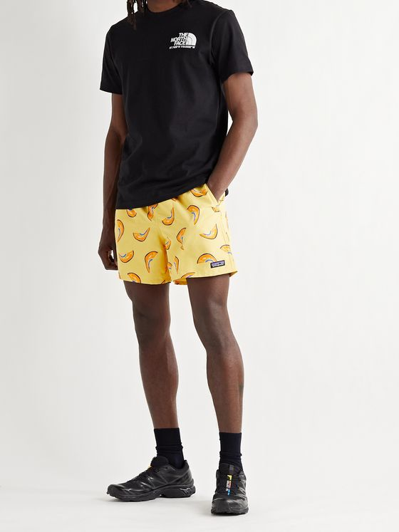 PATAGONIA Baggies Logo-Appliquéd Printed Recycled Nylon Shorts