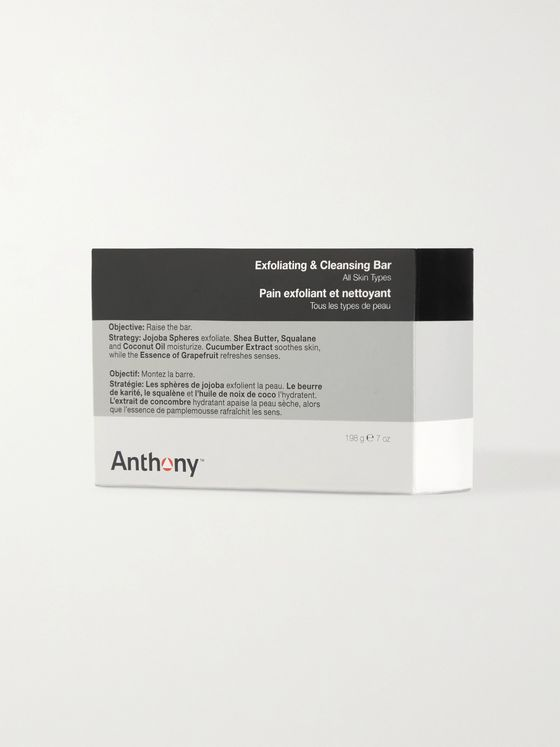 Anthony Exfoliating + Cleansing Bar Soap, 198g