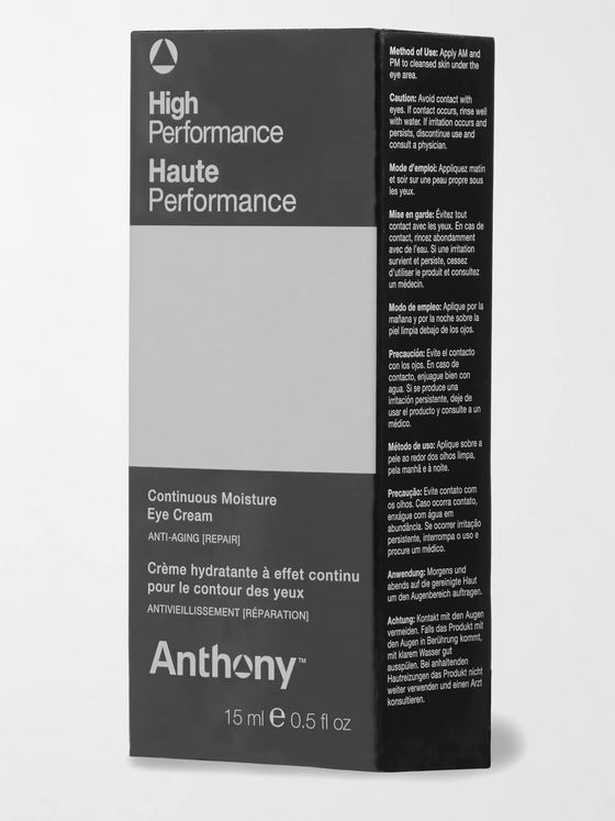 Anthony High Performance Continuous Moisture Eye Cream, 15ml