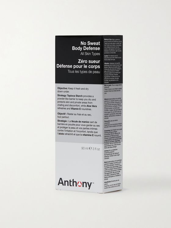 Anthony No Sweat Body Defense, 90ml