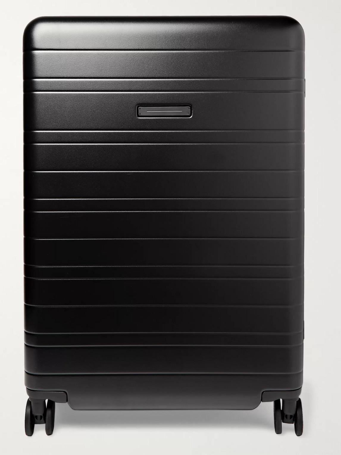 Horizn Studios H7 77cm Polycarbonate Suitcase In Black