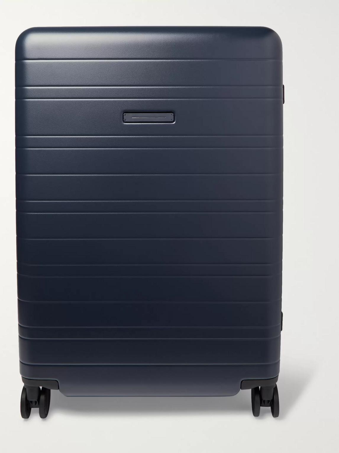 Horizn Studios H7 77cm Polycarbonate Suitcase In Blue