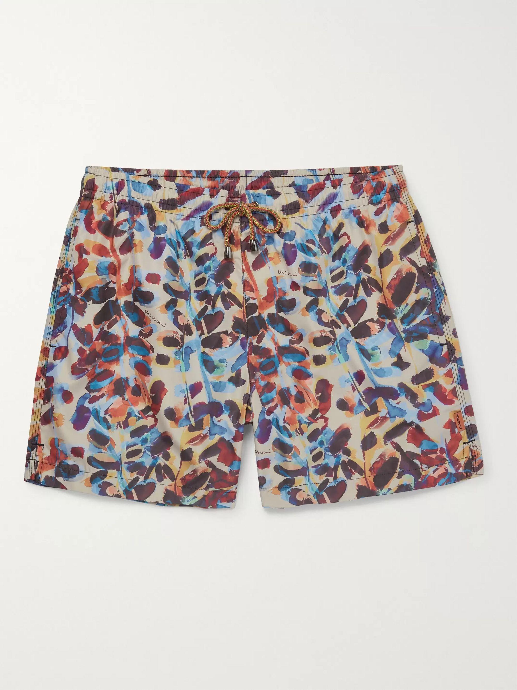 Multi Mid-Length Printed Swim Shorts | Missoni | MR PORTER
