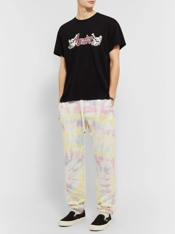 AMIRI Tie-Dyed Loopback Cotton-Jersey Sweatpants