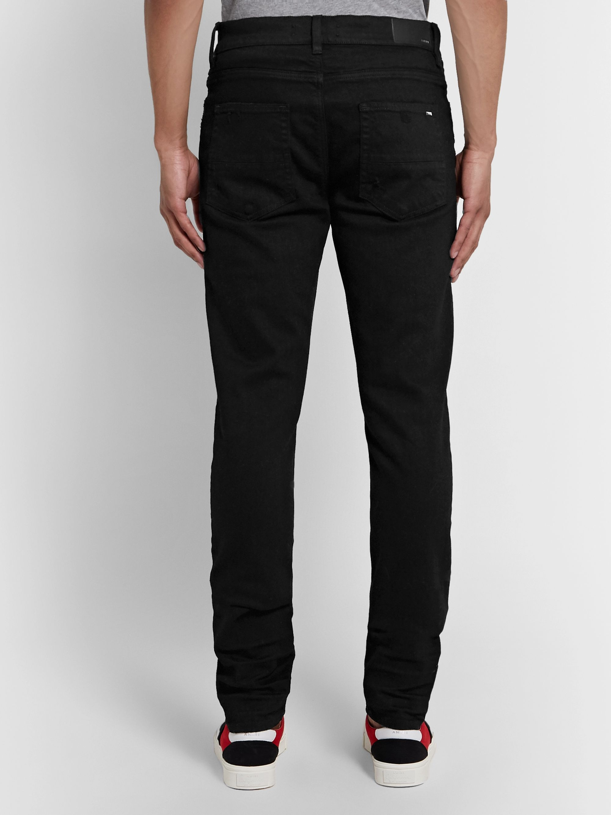 AMIRI Stack Skinny-Fit Stretch-Denim Jeans