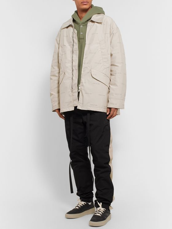 Fear of God Logo-Print Shell PrimaLoft Field Jacket